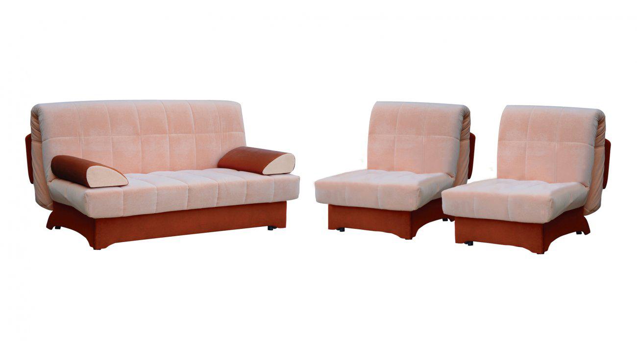 Комплект мягкой мебели Аккорд-2