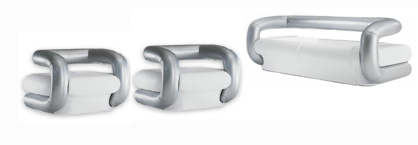 Комплект мягкой мебели Калисто LAVSOFA Фиеста Размер: диван: 190х85 В75 (сп. м. 130х190), кресло: 100х85 В75