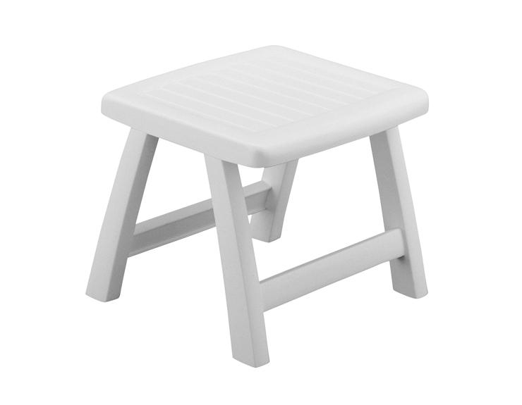 Табурет/столик Roma белый Kettler керамический столик табурет garden stool белый