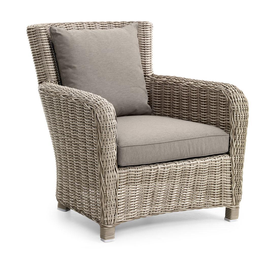 Плетеное кресло VENUS beige Brafab