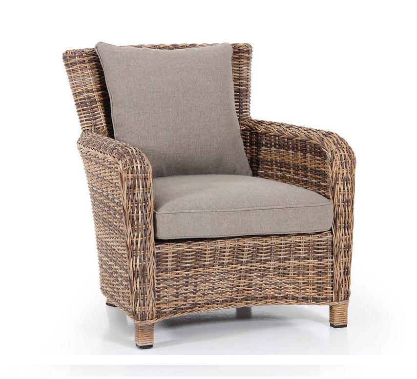 Плетеное кресло Venus brown