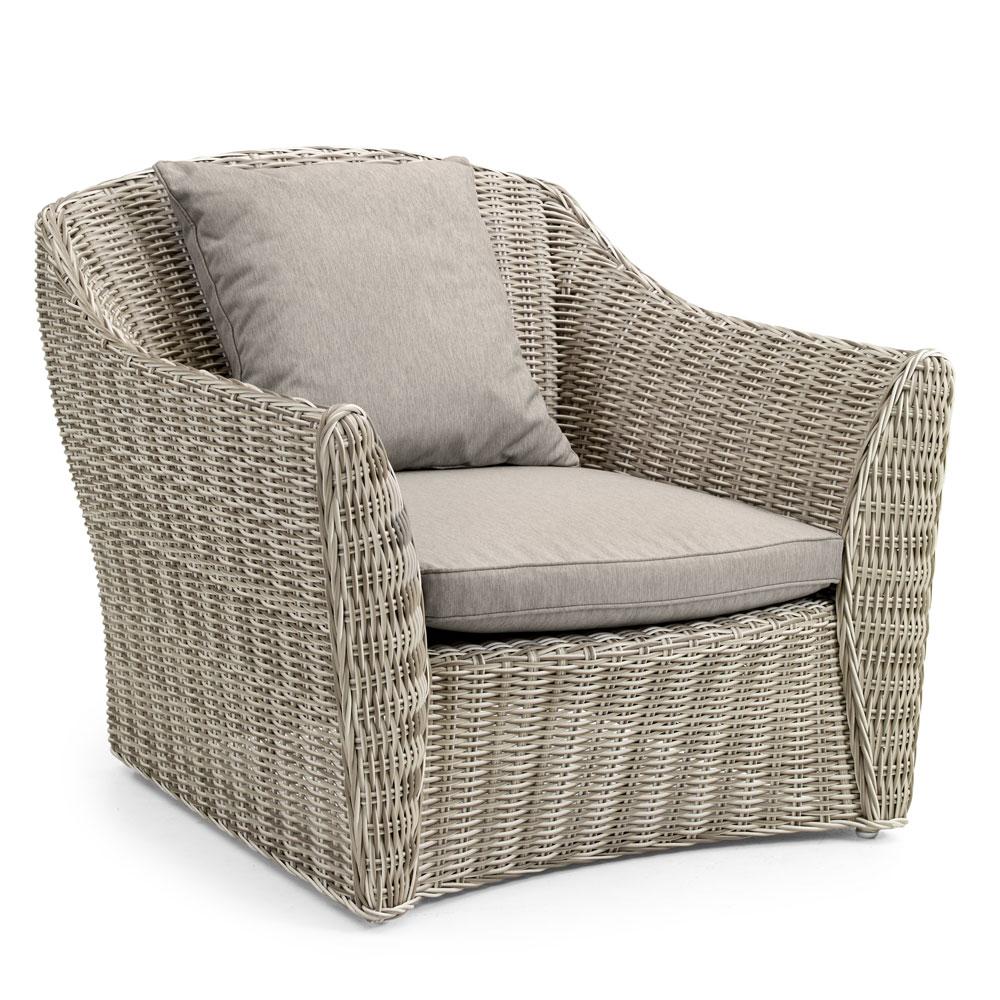 Плетеное кресло SambocaПлетеная мебель из искусственного ротанга<br>Размер: 91х80 В76<br><br>Артикул: 10541-51-21<br>Материалы: Искусственный ротанг<br>Каркас: Алюминиевый<br>Полный размер: 91х80 В76<br>Наполнитель: ППУ высокой плотности (Пенополиуретан)<br>Комплектация: Подушки<br>Цвет: Бежевый<br>Изготовление и доставка: 2-3 дня<br>Условия доставки: Бесплатная по Москве до подъезда<br>Условие оплаты: Оплата наличными при получении товара<br>Гарантия: 12 месяцев<br>Производство: Швеция<br>Производитель: Brafab