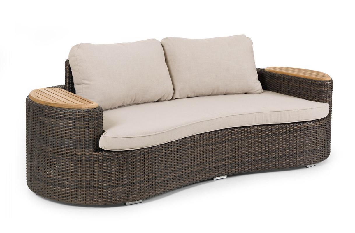 Плетеный диван WOW