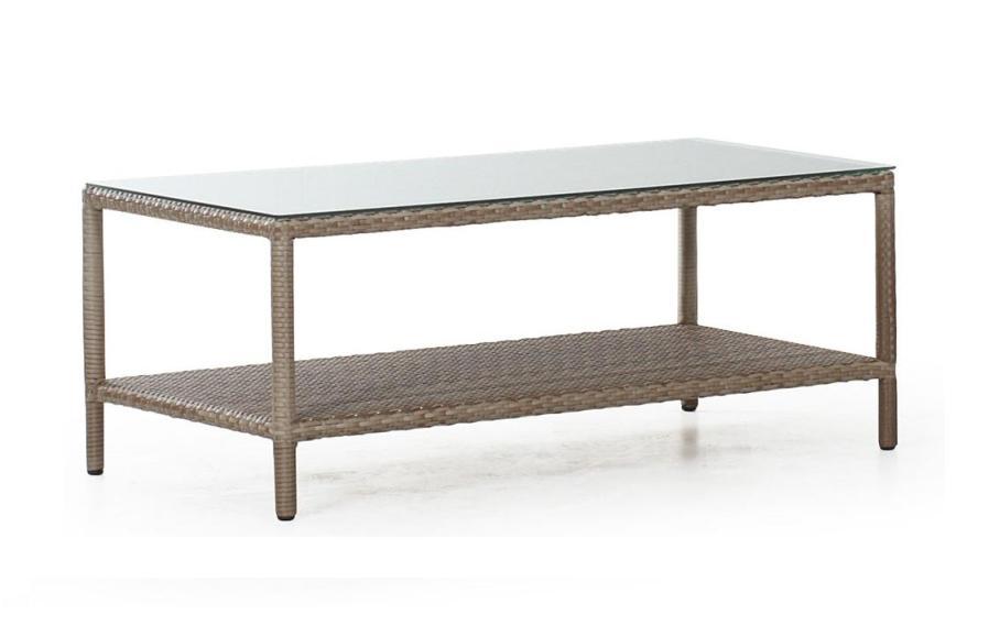 Плетеный стол MapleПлетеная мебель из искусственного ротанга<br>Размер: 121х60 В45<br><br>Артикул: 10626<br>Материалы: Искусственный ротанг, высокопрочное стекло<br>Каркас: Алюминиевый<br>Полный размер: 121х60 В45<br>Цвет: Натуральный<br>Изготовление и доставка: 2-3 дня<br>Условия доставки: Бесплатная по Москве до подъезда<br>Условие оплаты: Оплата наличными при получении товара<br>Гарантия: 12 месяцев<br>Производство: Швеция<br>Производитель: Brafab