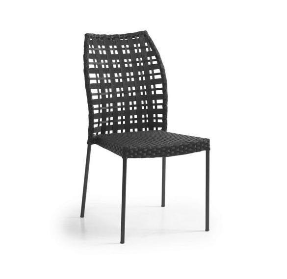 Стул из алюминия SesamМеталлическая мебель<br>Размер: 45x43x44,5 В91<br><br>Артикул: 1063-8<br>Материалы: Алюминий, искусственный ротанг<br>Полный размер: 45x43x44,5 В91<br>Цвет: Алюминий-черный, Ротанг-черный<br>Изготовление и доставка: 2-3 дня<br>Условия доставки: Бесплатная по Москве до подъезда<br>Условие оплаты: Оплата наличными при получении товара<br>Гарантия: 12 месяцев<br>Производство: Швеция<br>Производитель: Brafab