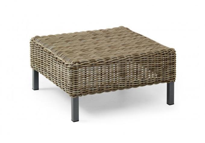 Плетеный стол EstelleПлетеная мебель из искусственного ротанга<br>Размер: 60х60 В29<br><br>Артикул: 10667-21<br>Материалы: Искусственный ротанг, высокопрочное стекло<br>Каркас: Алюминиевый<br>Полный размер: 60х60 В29<br>Цвет: Натуральный (цвет)<br>Изготовление и доставка: 2-3 дня<br>Условия доставки: Бесплатная по Москве до подъезда<br>Условие оплаты: Оплата наличными при получении товара<br>Производство: Швеция<br>Производитель: Brafab