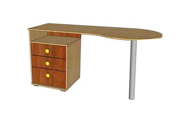 Письменный стол Ассоль А-1