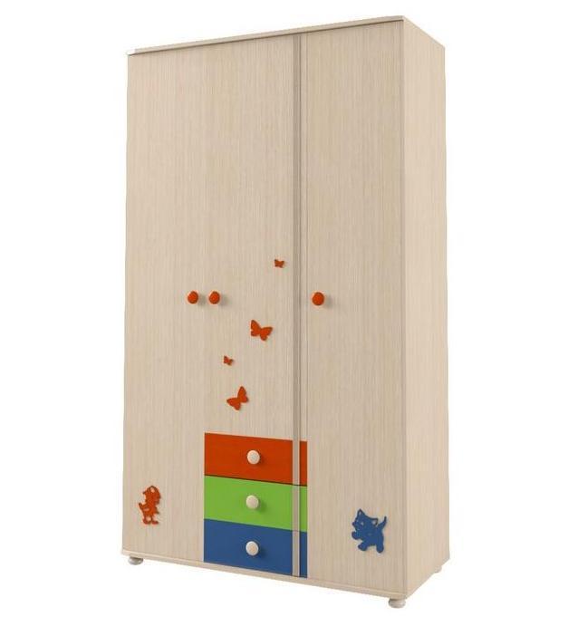 Шкаф для платья и белья № 113 МДК 4.13