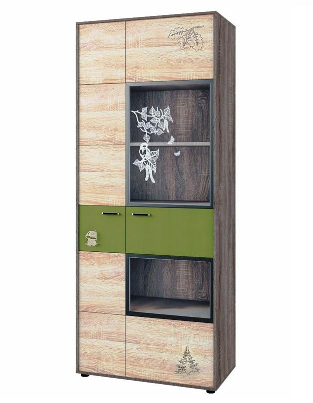 Шкаф для книг №127 МДК 4.14