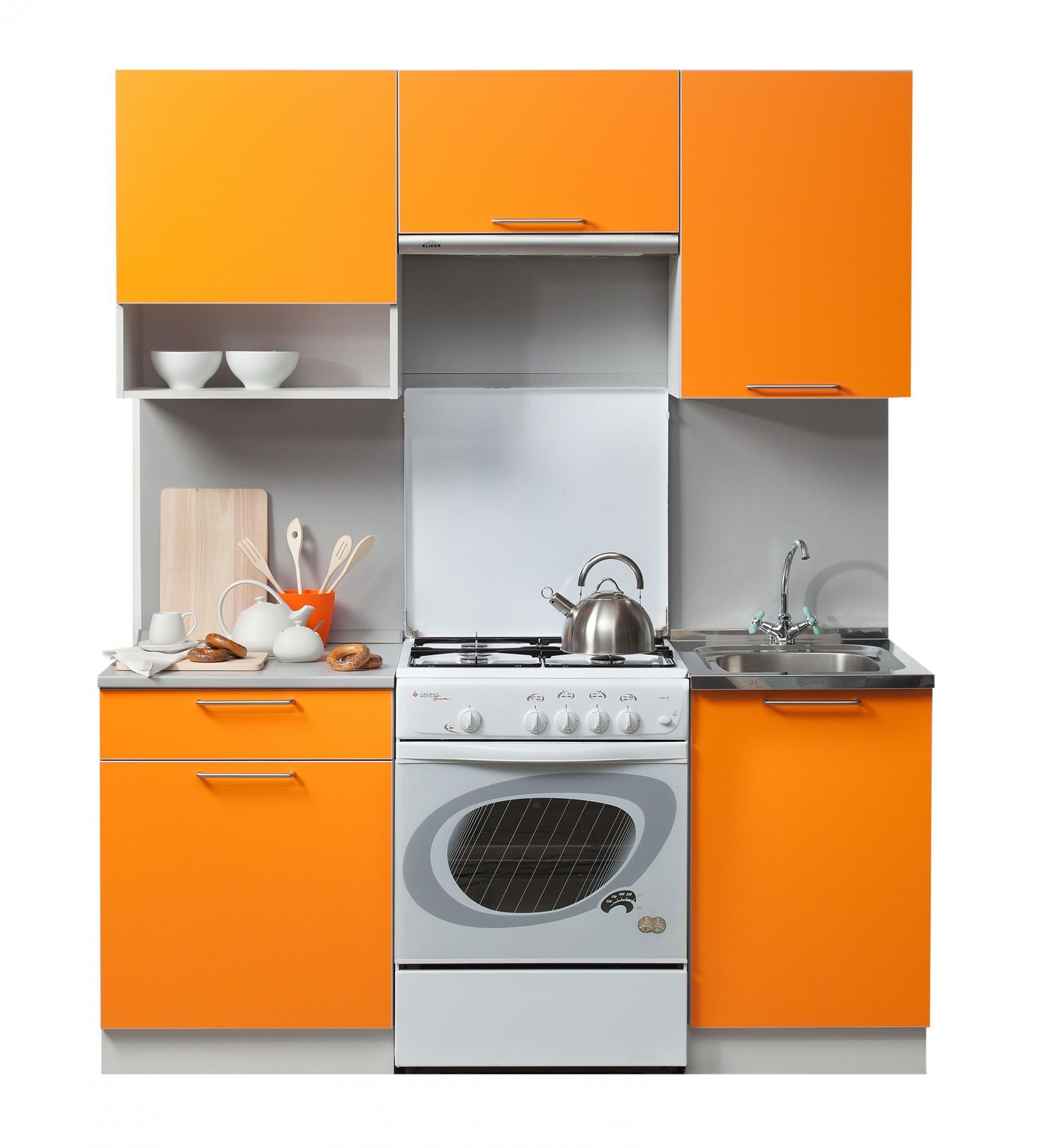 Кухня Симпл 1700 с нишей шкаф навесной ультра