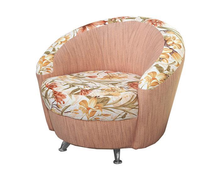 Кресло для отдыха Виктория-1 (хром)Кресла для отдыха<br>Размер: 95х85 В70<br><br>Механизм: Нераскладной<br>Материалы: Массив сосны, фанера, синтепон<br>Каркас: Деревянный<br>Полный размер (ДхГхВ): 95х85х70<br>Высота сиденья (см): 42, спинки 37<br>Высота подлокотника (см): 60, ножек 9<br>Глубина сиденья (см): 60<br>Наполнитель: ППУ высокой плотности (Пенополиуретан)<br>Комплектация: Хромированные ножки<br>Примечание: Стоимость указана по минимальной категории ткани<br>Изготовление и доставка: 8-10 дней<br>Условия доставки: Бесплатная по Москве до подъезда<br>Условие оплаты: Оплата наличными при получении товара<br>Доставка по МО (за пределами МКАД): 30 руб./км<br>Доставка в пределах ТТК: Доставка в центр Москвы осуществляется ночью, с 22.00 до 6.00 утра<br>Подъем на грузовом лифте: 300 руб.<br>Подъем без лифта: 150 руб./этаж<br>Сборка: 200 руб. в день доставки, заказать сборку Вы можете, если у Вас оформлена услуга подъем/занос изделия в помещение<br>Гарантия: 12 месяцев<br>Производство: Россия<br>Производитель: ГРОС