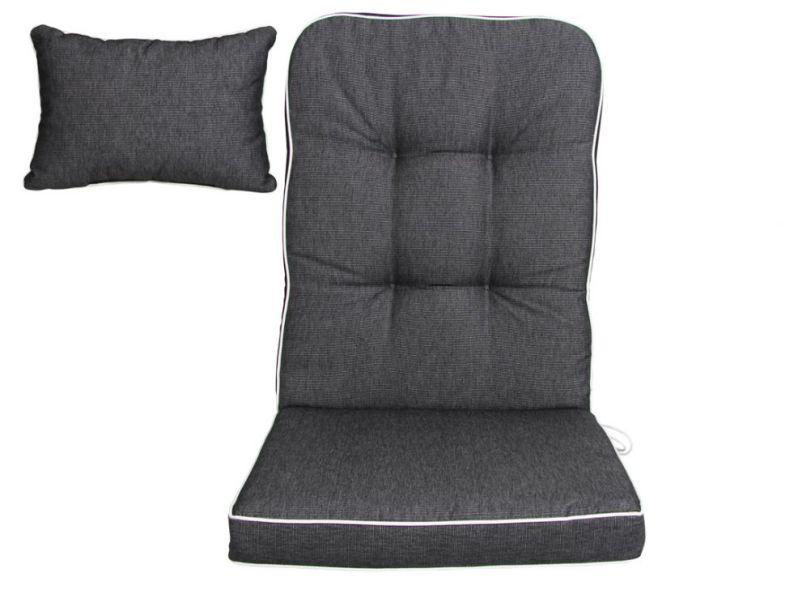 Комплект подушек для качелей Florina антрацит
