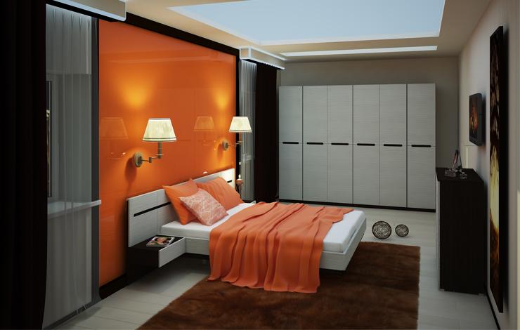 Спальня Виго Комплектация №2 комод лидер 3 2