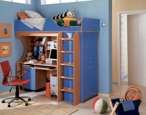 Детская комната Теди рассчитана на размещение даже в небольших...