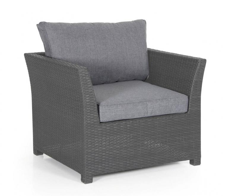 Плетеное кресло Madison grey Brafab