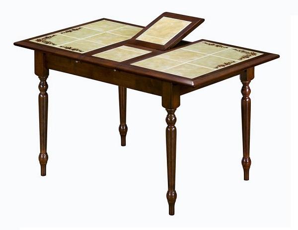 Стол СT 2950Обеденные столы<br>Размер: 100(130)x73 В75<br><br>Материалы: Массив Гевеи<br>Каркас: Деревянный<br>Полный размер: 100(130)x73 В75<br>Вес товара (кг): 36,5<br>Цвет: Темный орех<br>Примечание: Столешница выполнена из плиты-декорирована цветочным<br>Изготовление и доставка: 2-3 дня<br>Условия доставки: Бесплатная по Москве до подъезда<br>Условие оплаты: Оплата наличными при получении товара<br>Подъем на лифте: 500 руб.<br>Гарантия: 12 месяцев<br>Производство: Малайзия