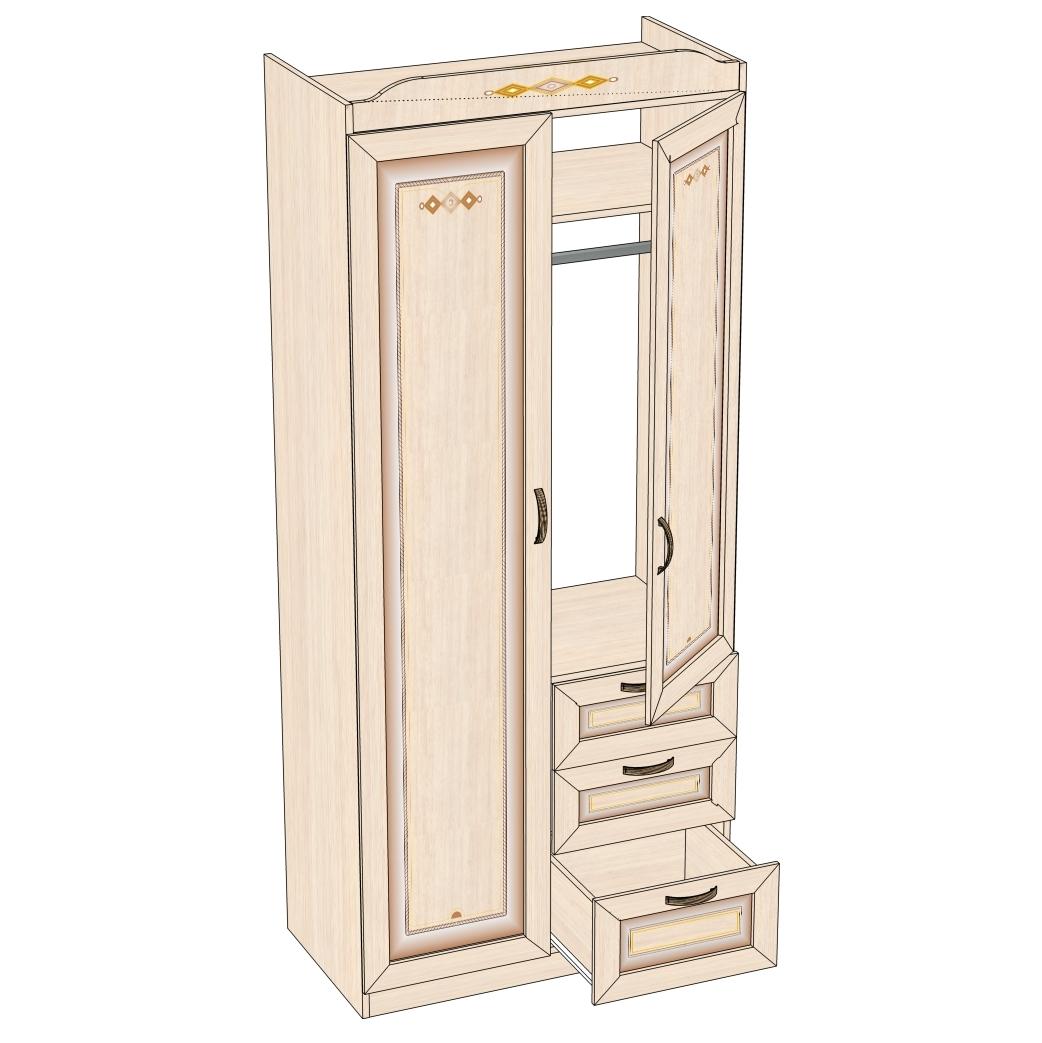 Любимый дом Шкаф 2-х створчатый Аврора ДМ 504020