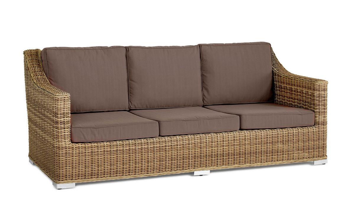 Плетеный диван Roxina