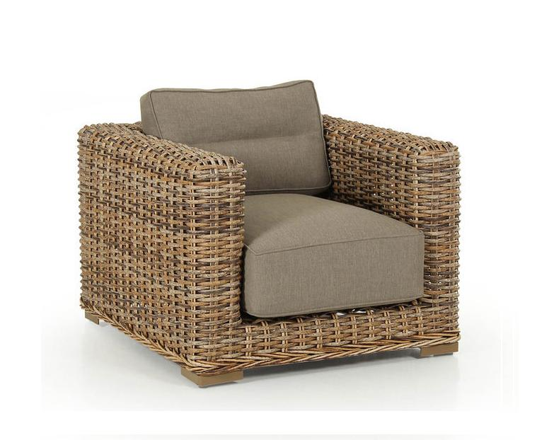 Плетеное кресло Eddo Brafab