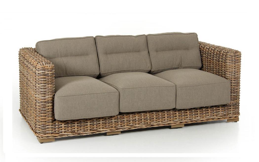 Плетеный диван Eddo