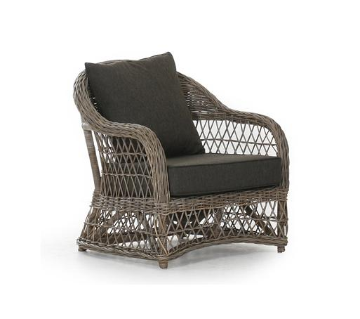 Плетеное кресло VictoriaПлетеная мебель из натурального ротанга<br>Размер: 76х83 В83<br><br>Артикул: 5771-61<br>Материалы: Натуральный ротанг<br>Каркас: Алюминиевый<br>Полный размер: 76х83 В83<br>Наполнитель: ППУ высокой плотности (Пенополиуретан)<br>Комплектация: Подушки<br>Цвет: Ротанг-натуральный (цвет), Ткань-коричневая<br>Изготовление и доставка: 2-3 дня<br>Условия доставки: Бесплатная по Москве до подъезда<br>Условие оплаты: Оплата наличными при получении товара<br>Гарантия: 12 месяцев<br>Производство: Швеция<br>Производитель: Brafab