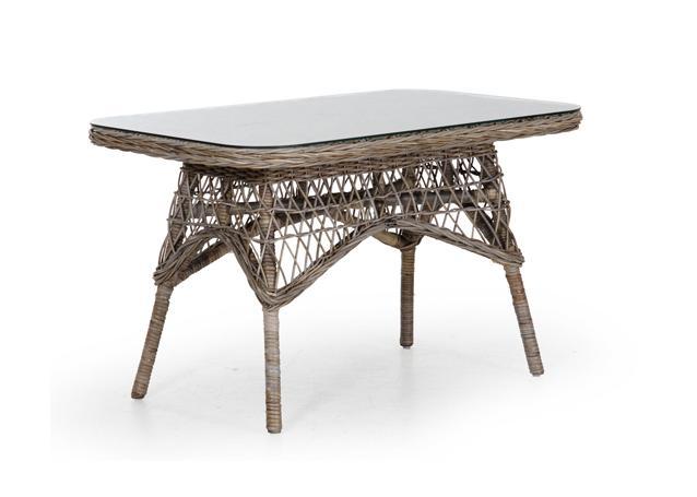 Плетеный стол из ротанга Sanna