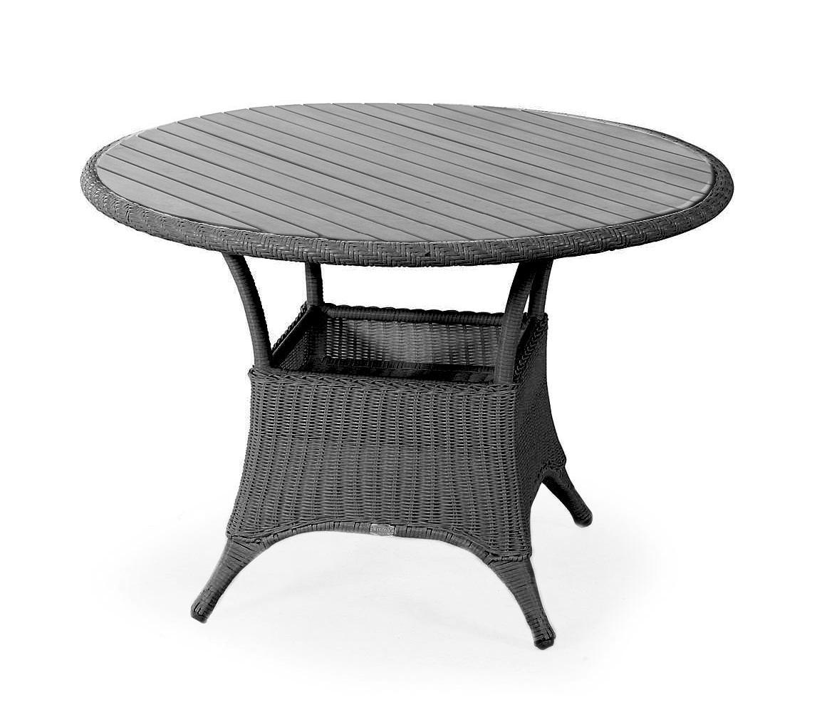 Плетеный стол Magda-1 greyПлетеная мебель из искусственного ротанга<br>Размер: &amp;#216;107<br><br>Артикул: 6807-7-7<br>Материалы: Искусственный ротанг, столешница-пластик nonwood<br>Каркас: Алюминиевый<br>Полный размер: &amp;#216;107<br>Цвет: Серый<br>Изготовление и доставка: 2-3 дня<br>Условия доставки: Бесплатная по Москве до подъезда<br>Условие оплаты: Оплата наличными при получении товара<br>Гарантия: 12 месяцев<br>Производство: Швеция<br>Производитель: Brafab