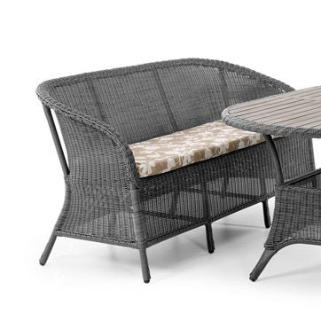 Плетеный диван Magda grey