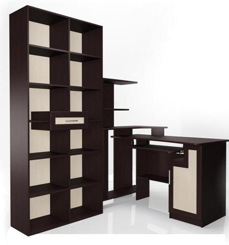 Компьютерный стол Мебелайн-2 библиотека мебелайн 4