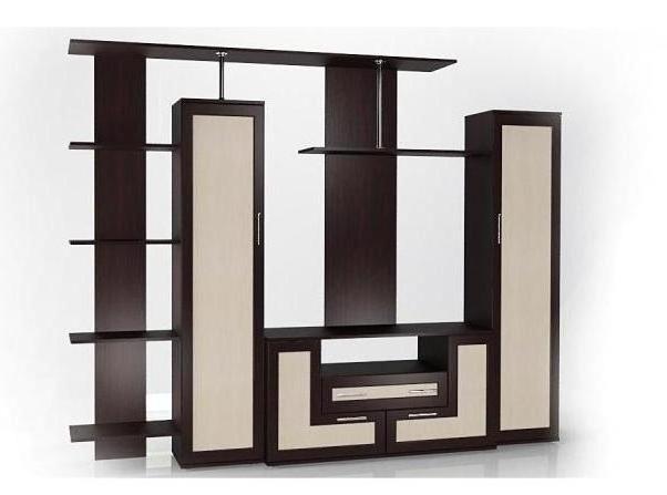 Стенка Мебелайн-2 библиотека мебелайн 4