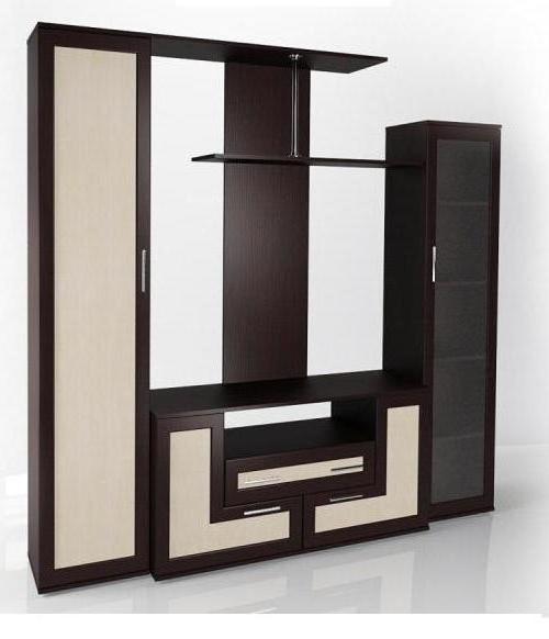 Стенка Мебелайн-1 тумба мебелайн 5