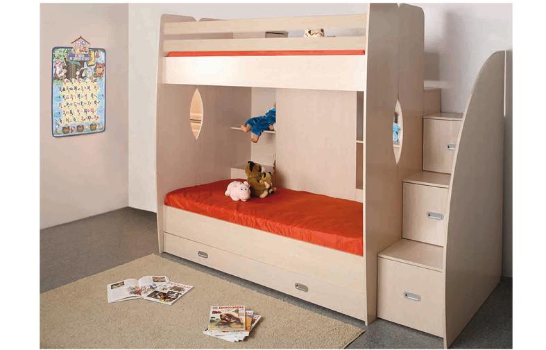 Кровать двухъярусная Адель -Д1