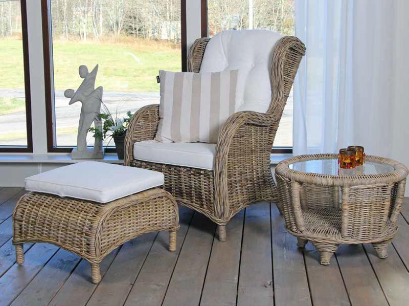 Комплект плетеной мебели Alexia