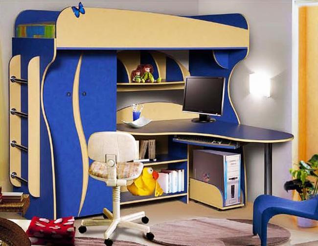 Кровать-чердак Альфа 3