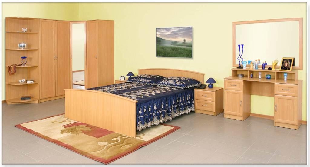 Спальня Арина-10 купить кровать односпальную с ящиками недорого в москве
