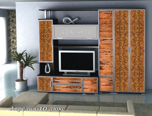 Стенка Аврелия-10 Люкс стенка аврелия 5
