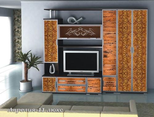 Стенка Аврелия-11 Люкс стенка аврелия 5