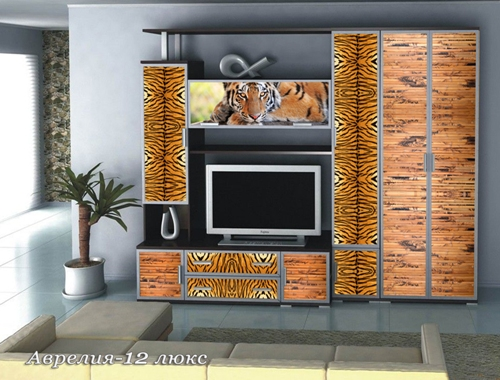 Стенка Аврелия-12 Люкс стенка палермо 12