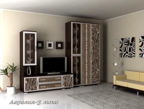 Стенка Аврелия-3Люкс стенка аврелия 5