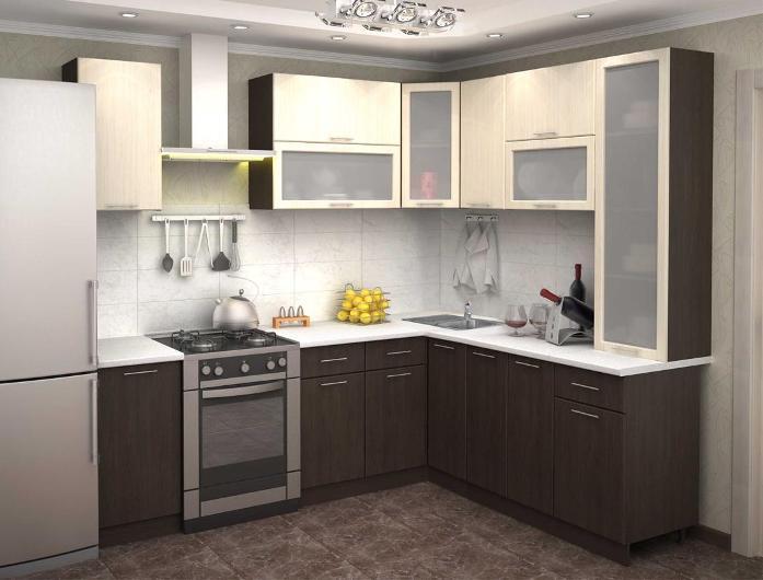 Кухонный гарнитур Базис Эко 14