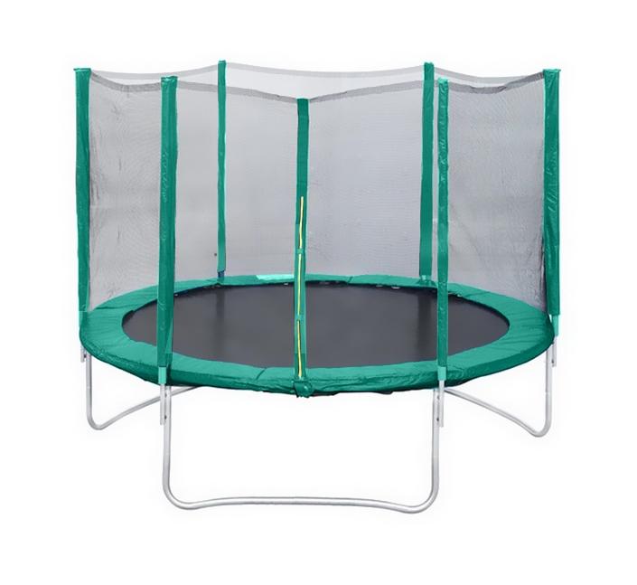 Батут с защитной сеткой 14 диаметр 4,3 м Trampoline