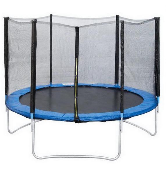 Батут с защитной сеткой 6 диаметр 1,8 м Trampoline батут с защитной сеткой perfetto sport 7 диаметр 2 1 м