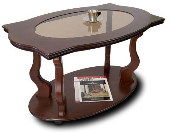 Журнальный столик Берже 3С на колесиках