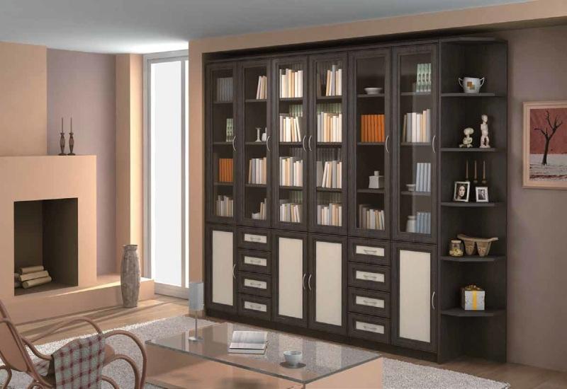 Модульная библиотека Гарун комплектация 1