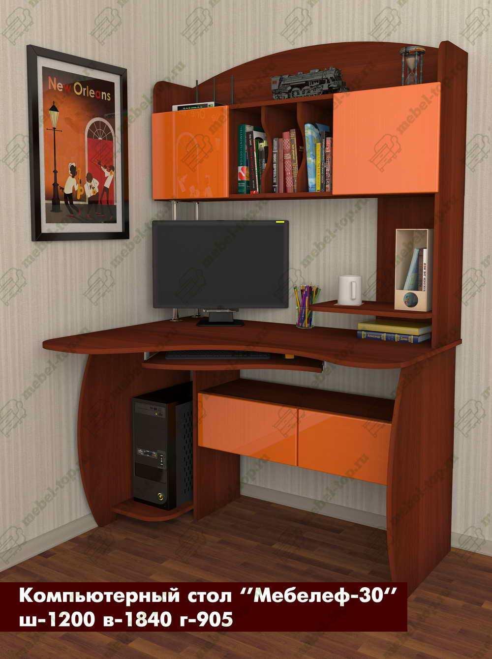 Компьютерный стол Мебелеф-30