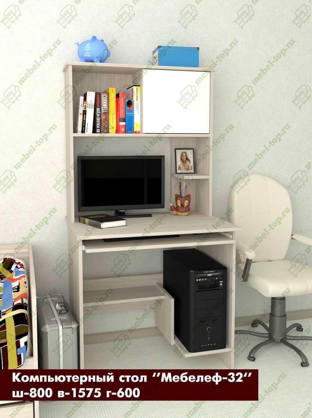 Компьютерный стол Мебелеф-32