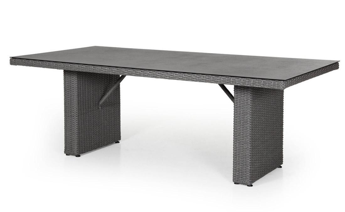 Плетеный прямоугольный стол из ротанга Cora brafab callas