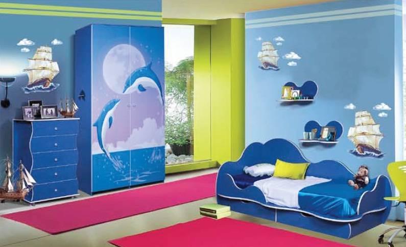 Детская комната Дельфин Комплектация №2