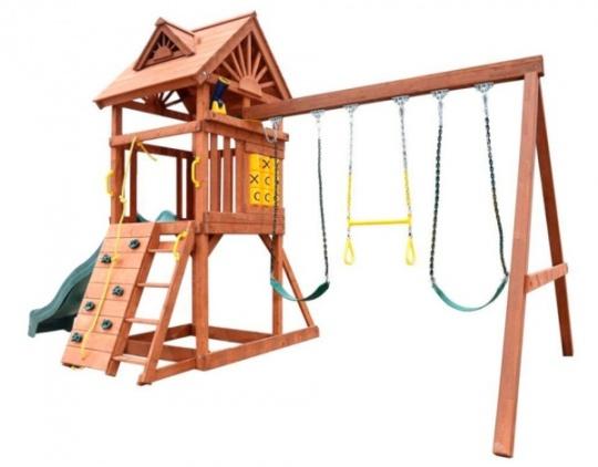 Деревянная площадка для детей High Peak Playgarden