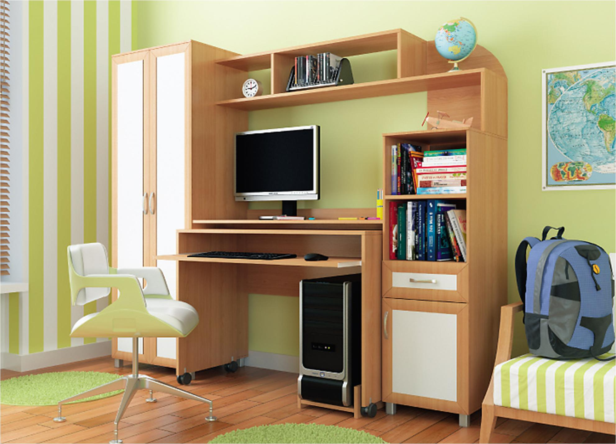 Компьютерный стол пятерочка от мебельтюм, интернет-магазин м.
